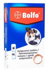 BOLFO GYÓGYSZERES NYAKÖRV 38 cm kutya- macska