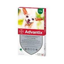 ADVANTIX spot on kutyának  4 kg alatt