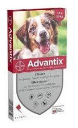 ADVANTIX spot on kutyának 10-25 kg között