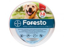 FORESTO BOLHA,-KULLANCSNYAKÖRV 8 kg feletti kutyának
