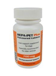 HEPA-PET PLUS  ízesített tabletta 700 mg 30 db. kutyának