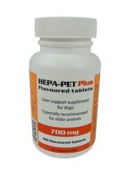 HEPA-PET PLUS  ízesített tabletta 700 mg 60 db. kutyának
