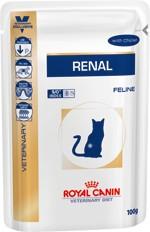 ROYAL CANIN RENAL FELINE csirkés alutasakos táp 85 gr